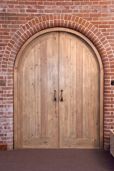 Arched softwood barn doors : softwood doors - pezcame.com